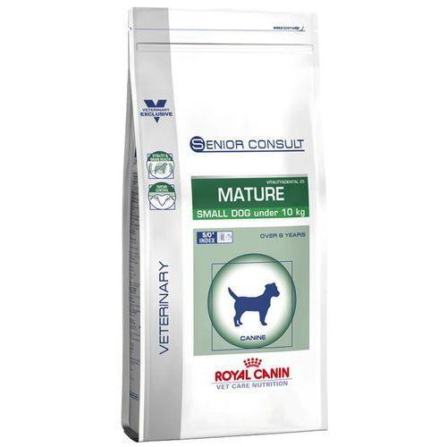 Royal canin vet dog senior consult mature small dog 1.5kg wyprzedaż [11.12.2018]