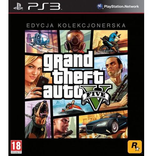 OKAZJA - GTA 5 (PS3)