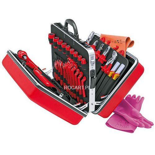Knipex 98 99 14 Uniwersalna walizka narzędziowa VDE zestaw 48-częściowy