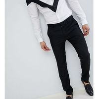 skinny trousers in linen - black marki Heart & dagger