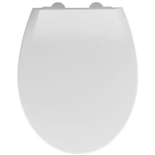 Biała deska sedesowa oraz nakładka dla dziecka, wolnoopadająca, łatwy montaż, fix-clip, deska dla dzieci, zestaw, kolor biały marki Wenko