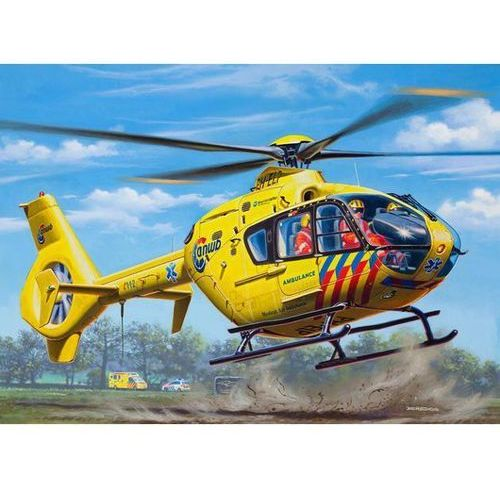 Revell ec 135 nederlandse trauma heli (4009803049397)