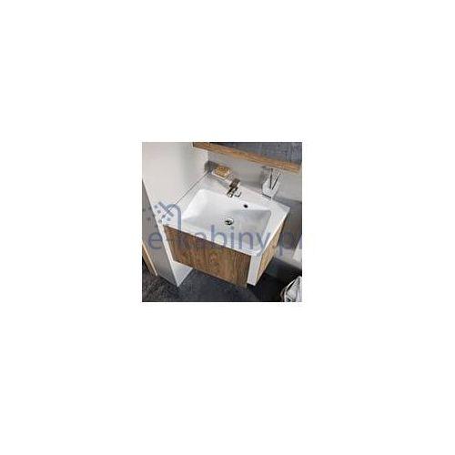 sd 10°(stopni) szafka narożna podumywalkowa, lewa 550 ciemny orzech x000000741 marki Ravak
