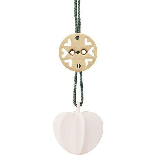 Ozdoba świąteczna serce mini, biała - Stelton, 10011