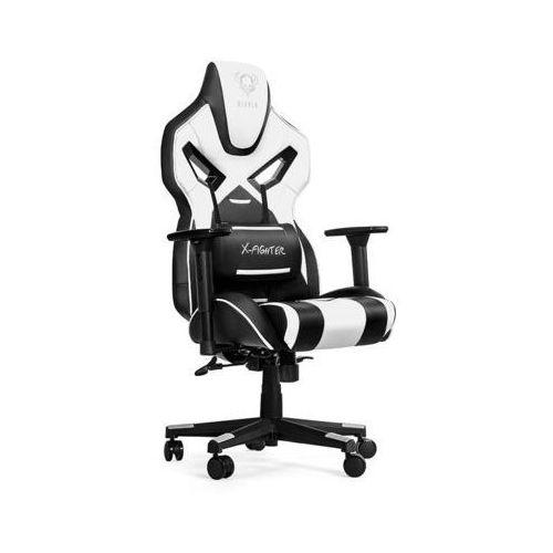 Fotel x-fighter czarno-biały + zamów z dostawą jutro! marki Diablo chairs