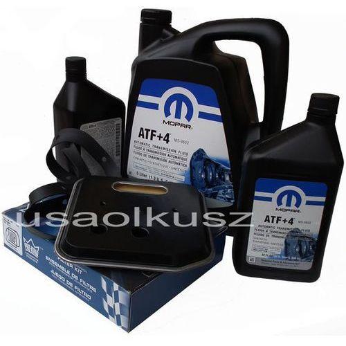 Olej MOPAR ATF+4 6,89l oraz filtr oleju oleju skrzyni biegów 42RE Dodge RAM 1998-2009 - produkt z kategorii- Oleje przekładniowe