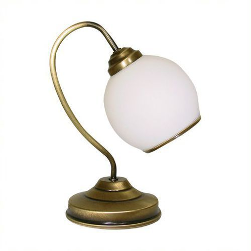 Lemir Koral lampka stołowa 1 pł. / patyna, dodaj produkt do koszyka i uzyskaj rabat -10% taniej!