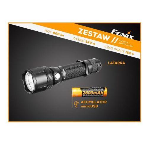 Fenix Latarka diodowa fd41 w zestawie