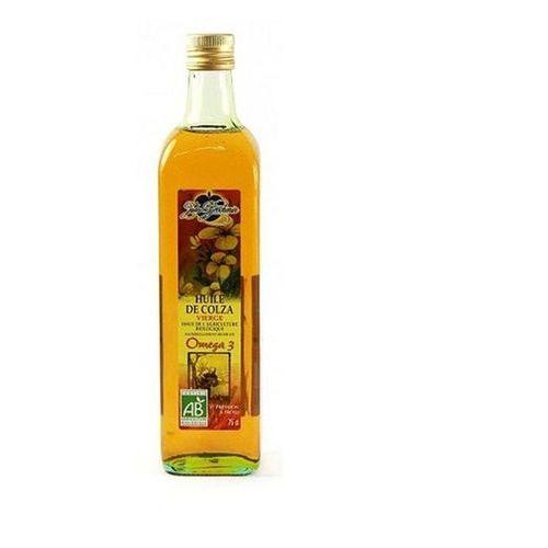 Olej Rzepakowy Omega 3 BIO 750 ml Jules Brochenin
