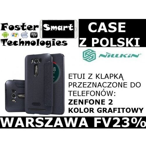 Nillkin  case klapka zenfone 2 dark grey zpl fv23%