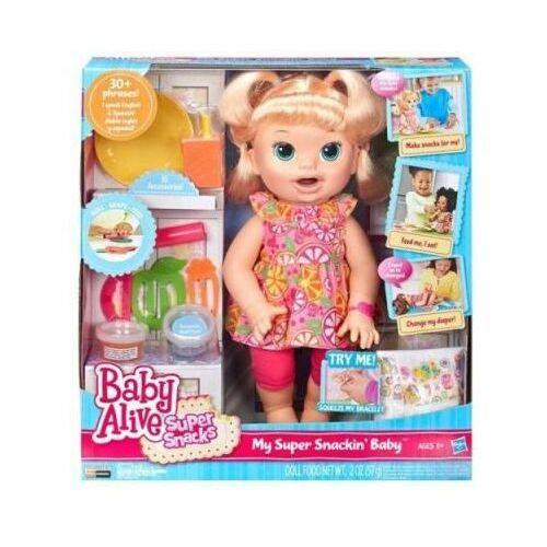 Baby Alive Moja Lala Łakomczuszek Sara B0632 - produkt z kategorii- Pozostałe lalki i akcesoria