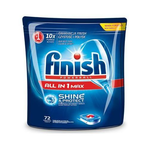 Finish Tabletki all in 1 max shine&protect 72 szt.