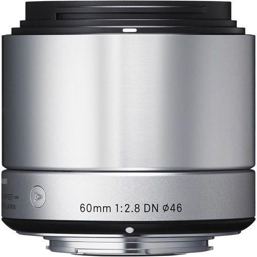 Sigma a 60mm f/2.8 dn srebrny sony e - produkt w magazynie - szybka wysyłka!