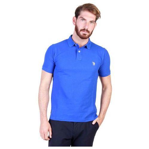 Koszulka polo męska U.S. POLO - 43652_49785-77, kolor niebieski