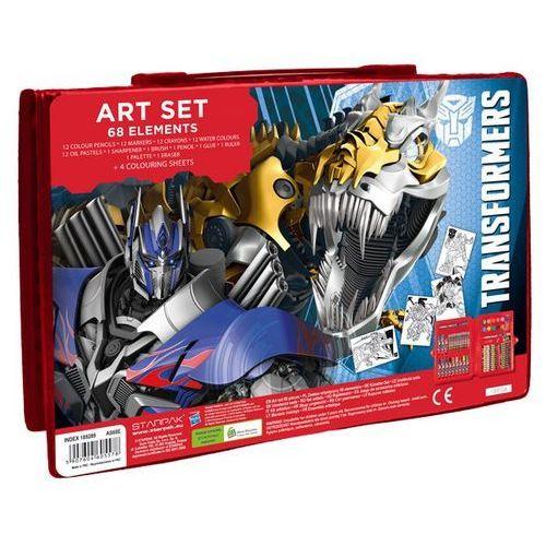 Starpak - transformers - zestaw artystyczny, 68 elementów - starpak