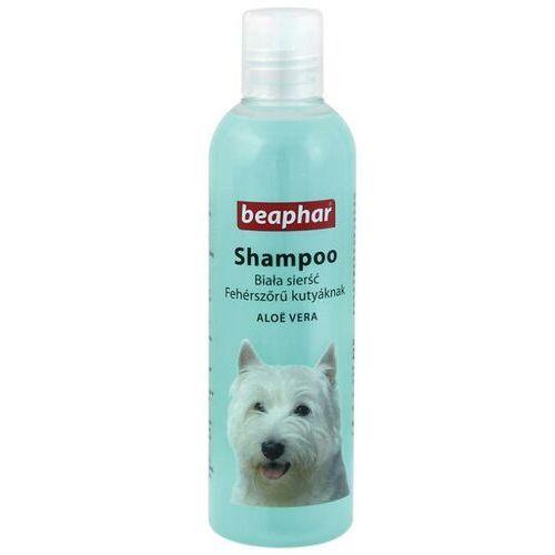 BEAPHAR szampon aloesowy dla psów o sierści białej