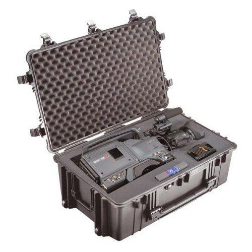 1650 stopień ochrony walizka z tworzywa piankowego, czarny marki Peli