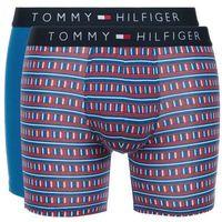 Tommy hilfiger 2-pack bokserki niebieski czerwony l