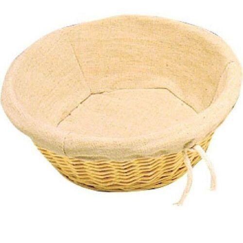 Koszyk na chleb okrągły | 23(Ø)x(h)9cm marki Olympia