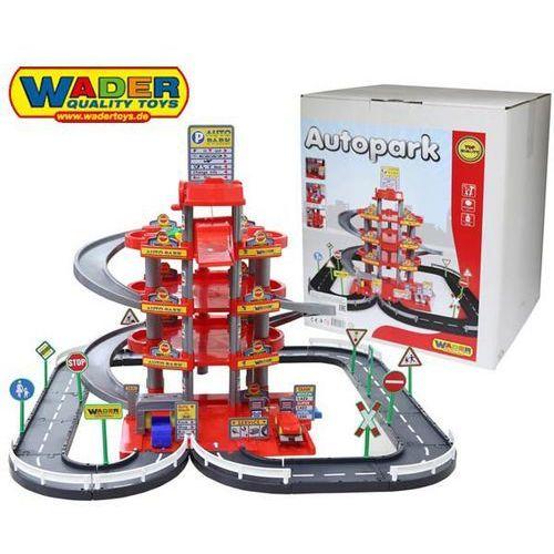 Wader QT Parking 4 Poziomowy z Drogą i Autami czer (2481034404472)