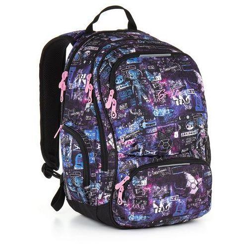 Topgal Plecak młodzieżowy  hit 889 i - violet (8592571008902)