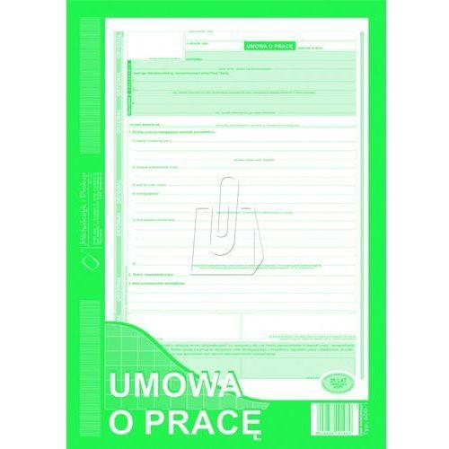Umowa o pracę a4 oryginał + kopia (500-1) marki Michalczyk i prokop