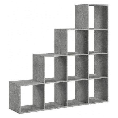 Producent: elior Industrialny regał schodkowy maleo 9x - beton