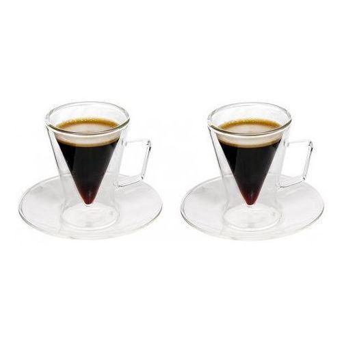 Filiżanka termiczna espresso 2x70ml,od ręki, tel. 570 31 0000 marki Feelino