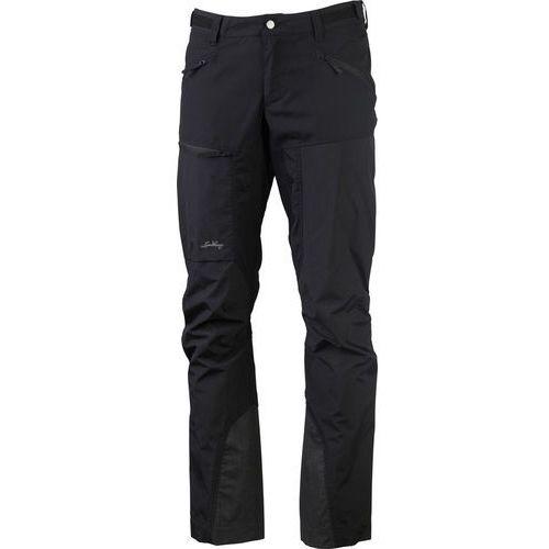 antjah ii spodnie długie mężczyźni czarny 56 2018 spodnie turystyczne marki Lundhags