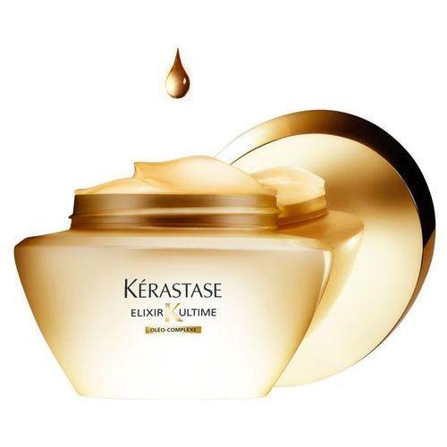 Kérastase Elixir Ultime maska z olejkami szlachetnymi do wszystkich rodzajów włosów Oleo-Complexe (Beautifying Oil Masque) 200 ml (3474636400263)