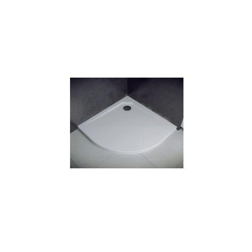 BESCO ASCO Brodzik półokrągły 90x90x2, odlew mineralny
