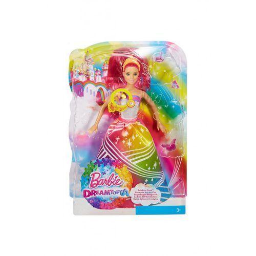 Barbie Lalka tęczowa księżniczka 3y35jt