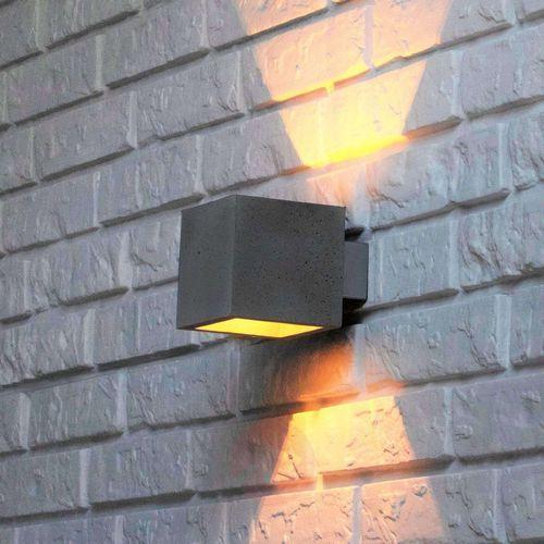 Proof – lampa ścienna z betonowym kloszem (5901602368602)