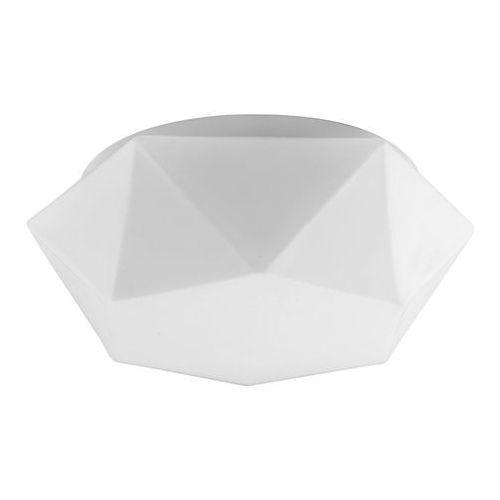 Plafon LAMPA sufitowa GEA 4726502 Spotlight szklana OPRAWA LED 12W bryła biała, kolor Biały