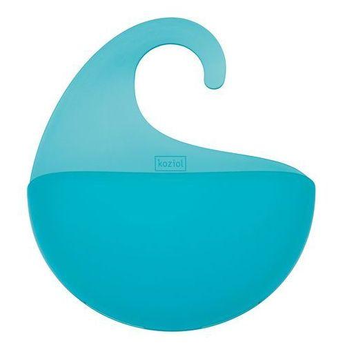 Organizer łazienkowy SURF XL - kolor turkusowy, KOZIOL