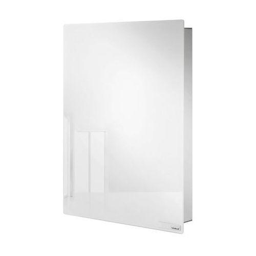 Magnetyczna skrzynka na klucze, szkło białe by marki Blomus
