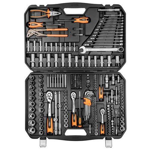 Zestaw kluczy nasadowych NEO 08-681 1/2, 1/4 i 3/8 cala (233 elementy) + DARMOWY TRANSPORT!