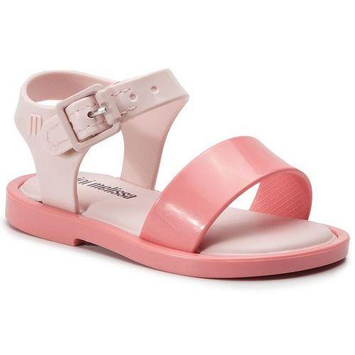 Sandały - mini melissa mar sandal iii bb 32633 pink 50485 marki Melissa
