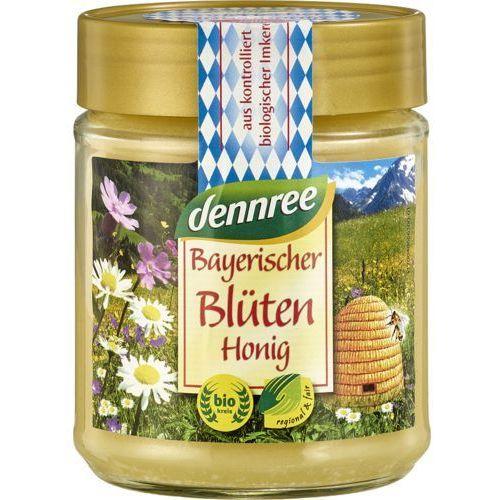 Dennree (dżemy, miody, herbaty) Miód wielokwiatowy bawarski bio 500 g - dennree (4021851418284)
