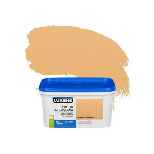 Luxens Farba wewnętrzna do ścian i sufitów emulsja 5 l hiszpańska mandarynka