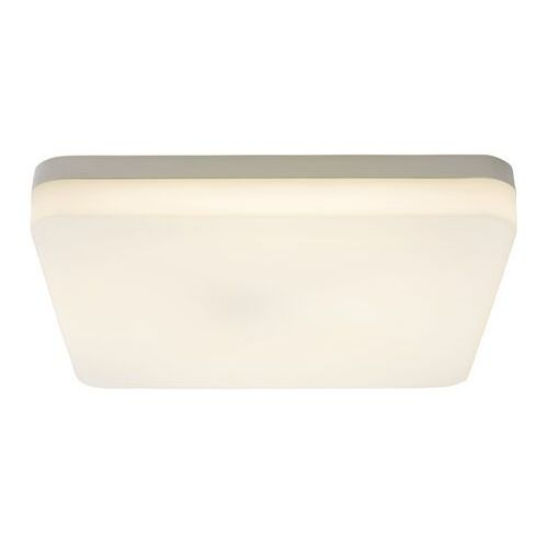 Plafon led halli kwadratowy ip65 28 cm biały z czujnikiem ruchu marki Colours