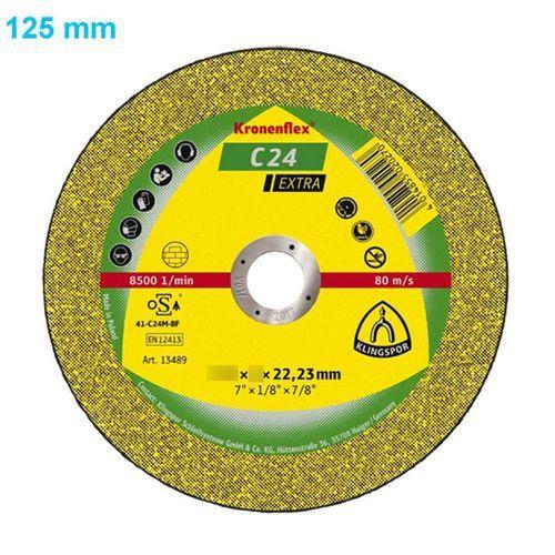 Klingspor Tarcza do cięcia kronenflex c 24 extra 125 x 2,5 x 22 mm płaska - OKAZJE
