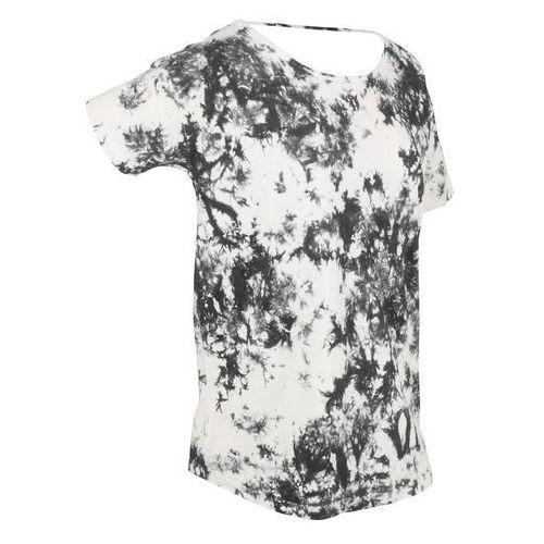 T-shirt (2 szt.) bonprix różowy/morski, kolor czarny