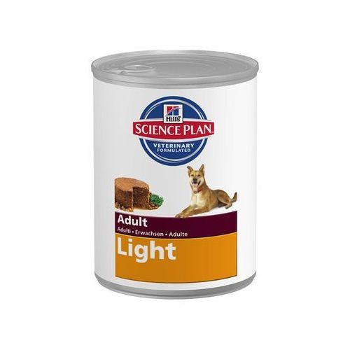 HILL'S Canine Adult Light Chicken - puszka 12x370g