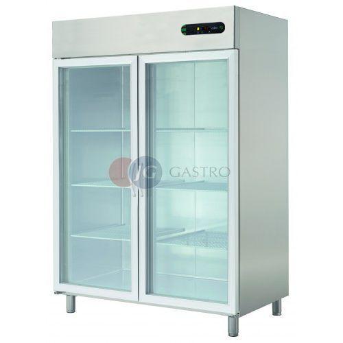 Szafa chłodnicza 2-drzwiowa przeszklona 1400 l ECP-1402 GLASS
