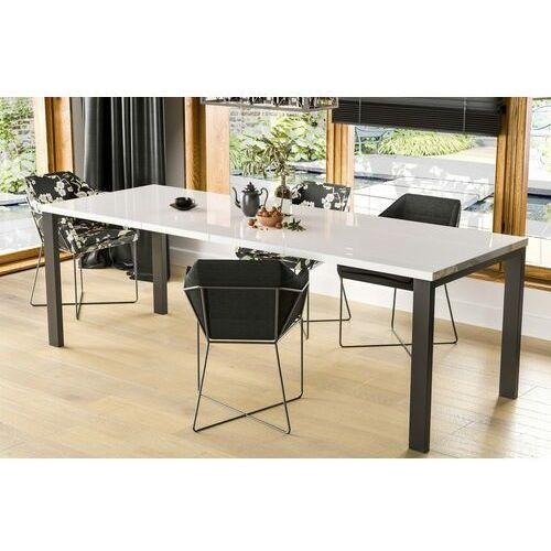 Stół Garant rozkładany 80-215 biały połysk, en-0079