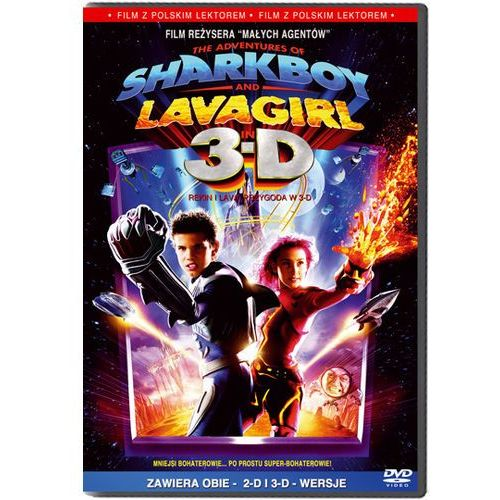 Rekin i Lava 3D (DVD) - Hugo Rodriguez (film)