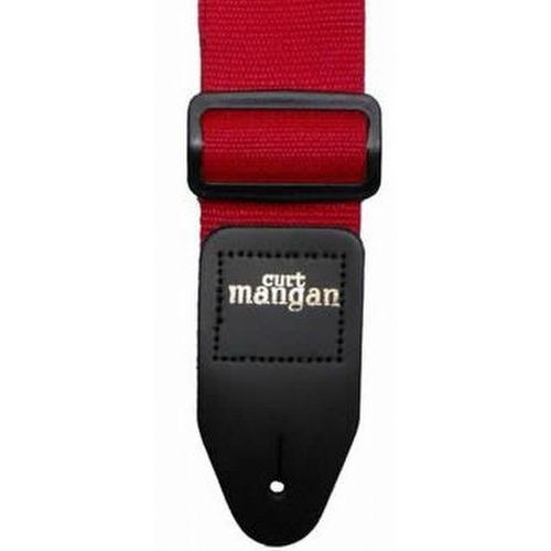 czerwony pas gitarowy marki Curt mangan