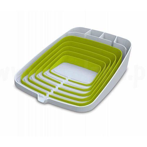 Ociekacz do naczyń arena - biało-zielony  promocyjne ceny wysyłki marki Joseph joseph