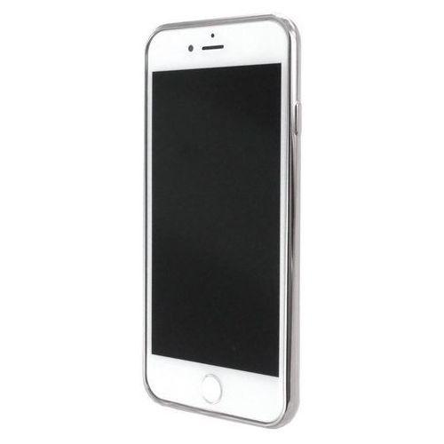 Guess Etui hardcase Triangle iPhone 7 srebrny (GUHCP7TRTLSI) Darmowy odbiór w 21 miastach!, kolor szary